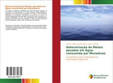 Capa do livro de Determinação de Metais pesados em Água consumida por Moradores