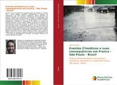 Portada del libro de Eventos Climáticos e suas consequências em Franca - São Paulo - Brasil