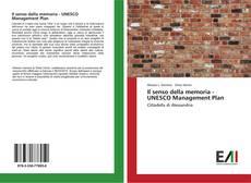 Capa do livro de Il senso della memoria - UNESCO Management Plan
