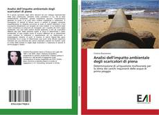 Copertina di Analisi dell'impatto ambientale degli scaricatori di piena