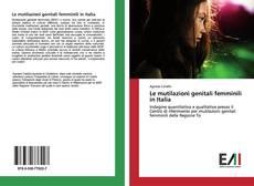 Обложка Le mutilazioni genitali femminili in Italia