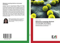 Portada del libro de Advances scanning electron microscopy techniques