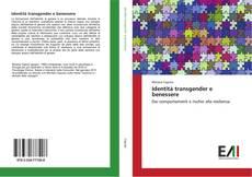 Copertina di Identità transgender e benessere