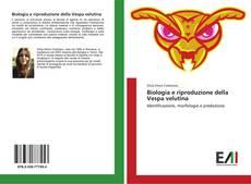 Couverture de Biologia e riproduzione della Vespa velutina