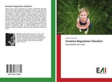 Bookcover of Emotion Regulation Checklist