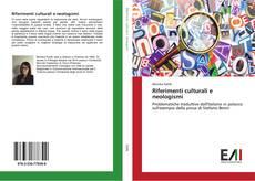 Buchcover von Riferimenti culturali e neologismi