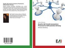 Copertina di Analisi del trend economico finanziario dell'azienda Amway
