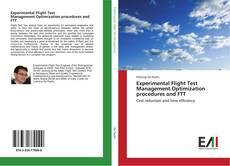 Capa do livro de Experimental Flight Test Management.Optimization procedures and FTT