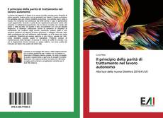 Buchcover von Il principio della parità di trattamento nel lavoro autonomo