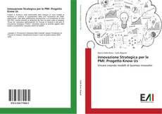 Innovazione Strategica per le PMI: Progetto Know Us kitap kapağı