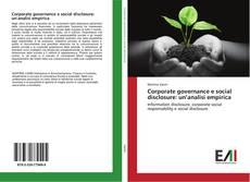 Capa do livro de Corporate governance e social disclosure: un'analisi empirica