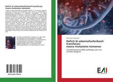 Capa do livro de Deficit di adeninafosforibosil-transferasi: nuova mutazione nonsenso