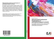 Buchcover von Mitochondrial potassium homeostasis in pathophysiological contexts