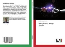 Bookcover of Mechatronics design