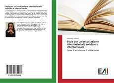 Copertina di Sede per un'associazione internazionale solidale e interculturale