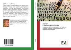 Bookcover of L'italiano accademico
