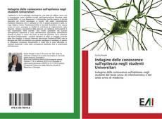 Bookcover of Indagine delle conoscenze sull'epilessia negli studenti Universitari