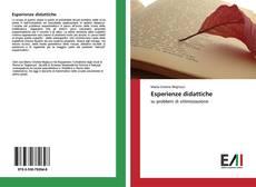 Bookcover of Esperienze didattiche