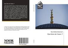 Bookcover of Que faire de l'islam ?