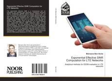 Portada del libro de Exponential Effective SINR Computation for LTE Networks
