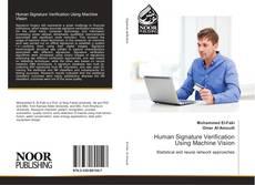 Bookcover of Human Signature Verification Using Machine Vision