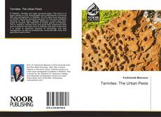 Обложка Termites: The Urban Pests