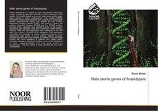 Bookcover of Male sterile genes of Arabidopsis