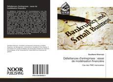 Bookcover of Défaillances d'entreprises : essai de modélisation financière
