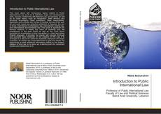 Bookcover of Introduction to Public International Law