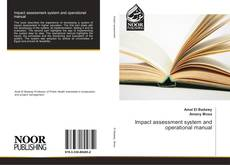 Bookcover of Impact assessment system and operational manual