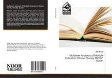 Bookcover of Multilevel Analysis of Multiple Indicators Cluster Survey MICS2, Sudan