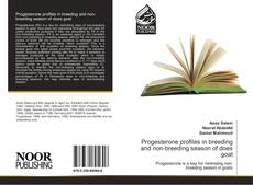 Bookcover of Progesterone profiles in breeding and non-breeding season of does goat