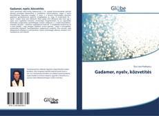 Bookcover of Gadamer, nyelv, közvetítés