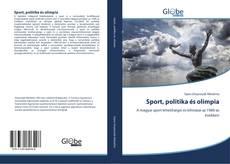 Buchcover von Sport, politika és olimpia