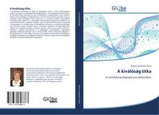Bookcover of A kiválóság titka