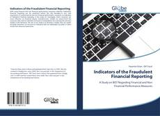 Bookcover of Indicators of the Fraudulent Financial Reporting