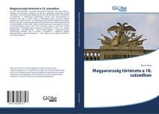 Couverture de Magyarország története a 18. században