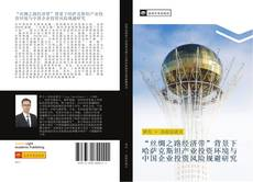 """""""丝绸之路经济带""""背景下哈萨克斯坦产业投资环境与中国企业投资风险规避研究 kitap kapağı"""