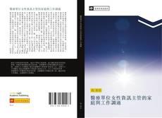 醫療單位女性資訊主管的家庭與工作調適 kitap kapağı