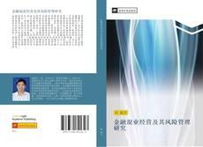 Capa do livro de 金融混业经营及其风险管理研究