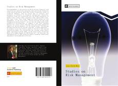 Buchcover von Studies on Risk Management