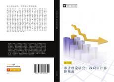 Bookcover of 审计理论研究:政府审计客体视角