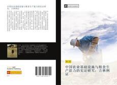 Bookcover of 中国农业基础设施与粮食生产能力的实证研究:吉林例证
