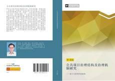 公共项目治理结构及治理机制研究的封面