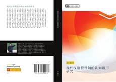 Borítókép a  现代汉语假设句的认知语用研究 - hoz