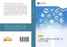 Bookcover of 三网融合进程中的电视产业竞争与规制