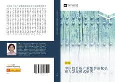 Buchcover von 中国胶合板产业集群演化机理与发展模式研究