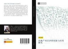 房地产项目评价创新与应用研究 kitap kapağı