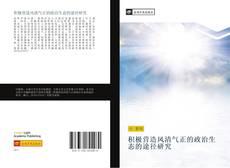 Bookcover of 积极营造风清气正的政治生态的途径研究