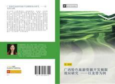 广西特色旅游资源开发极限效应研究 ——以龙脊为例的封面